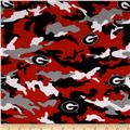 Collegiate Cotton Broadcloth The University of Georgia Camouflage