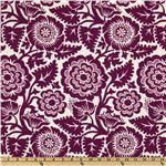 Joel Dewberry Heirloom Blockprint Blossom Amethyst