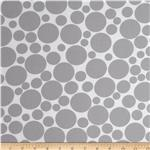 0275393 Dot.Com Jumbo Tossed Dots White/Grey