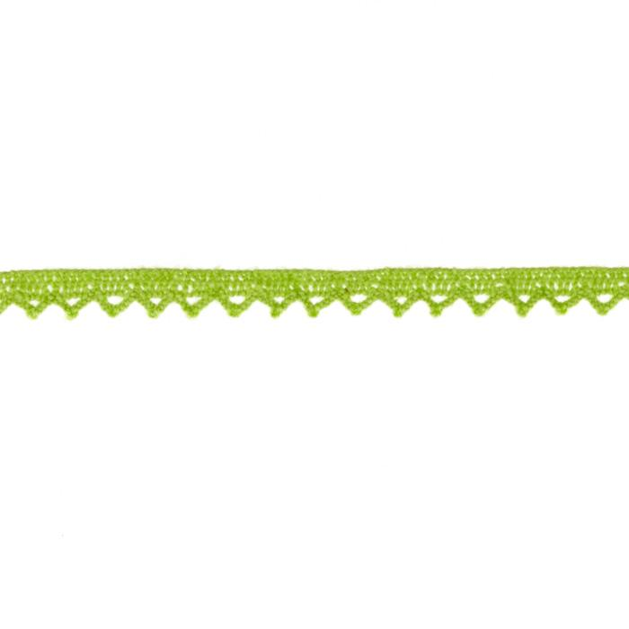 Riley Blake Sew Together 1/4&quot; Crocheted Lace Trim Lime