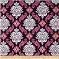 Joel Dewberry True Colors Damask Violet