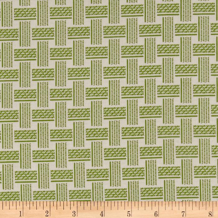 Olivia Collection Woven Green