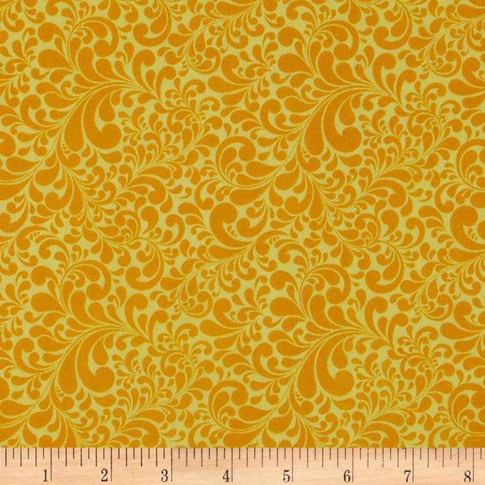 Swirl Basics Scroll Leaf Yellow
