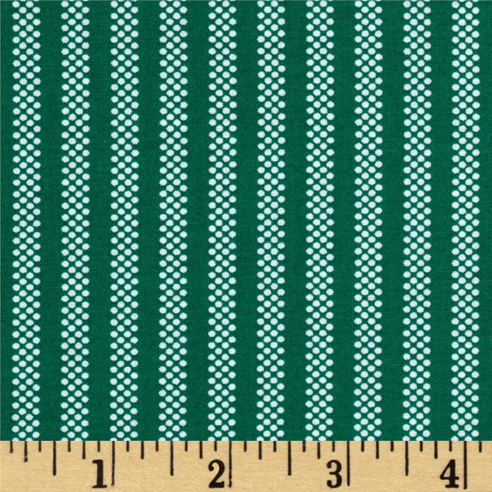 You've Been Jingled Candy Stripe Green