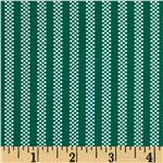 FJ-806 You've Been Jingled Candy Stripe Green