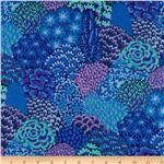 225900 Kaffe Fassett Fall 2012 Collective Oriental Trees Blue