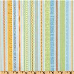 EV-074 Babysaurus Number and Alphabet Stripe Green