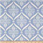 0280113 Moda Jubilee Bunny Damask Bright Blue