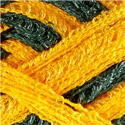 Red Heart Boutique Sashay Team Spirit Yarn Green/Gold