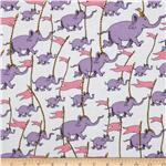 0273413 Oh The Places You&#39;ll Go! Rainbow Elephants White/Purple