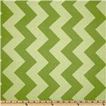 FT-922 Riley Blake Chevron Large Tonal Green