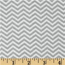 Moda Surrounded By Love Chevron Grey/White