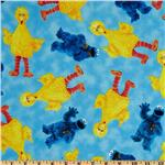 0272360 Welcome to Sesame Street Character Toss Blue