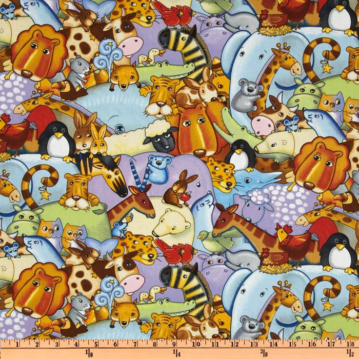 Sea Of Dreams Packed Animals Multi