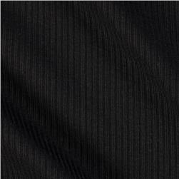 Cotton Rib Knit Black