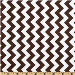 FT-463 Riley Blake Chevron Small  Brown