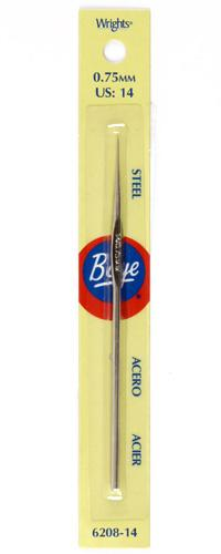 Boye Steel Crochet Hook 5'' Size 14