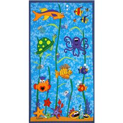 Under The Sea Panel Aquarium Blue