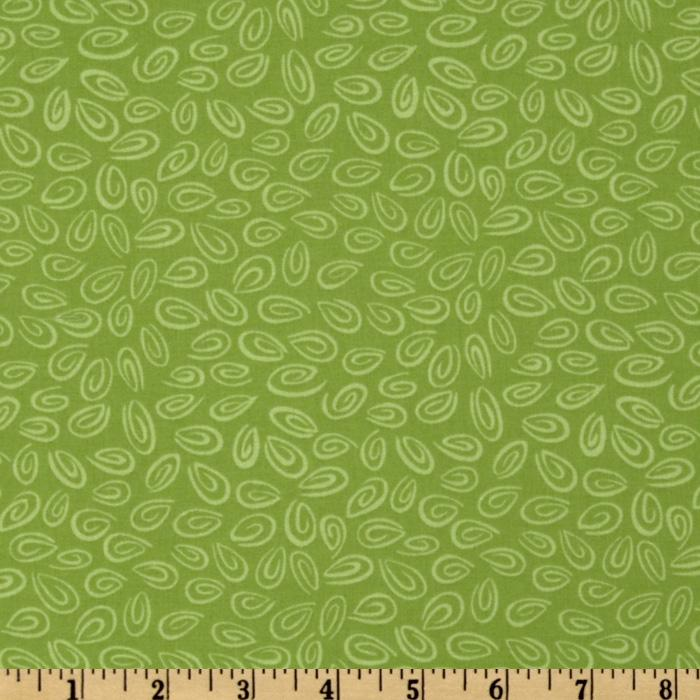 World of Susybee Zoe Oval Swirl Green