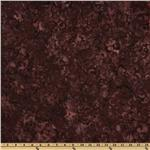 Batavian Batiks Scroll Maroon