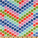 Greenhouse Flannel Apple Chevron Royal