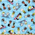 Happiness Is…Peanuts Characters Blue