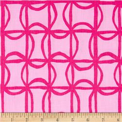Kanvas Lilified Pin Wheel Pink/Fuschia