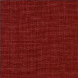 European Linen Fabric Red Oak