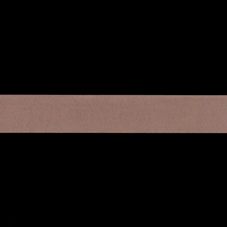 1'' Sheer Organza Ribbon Peach