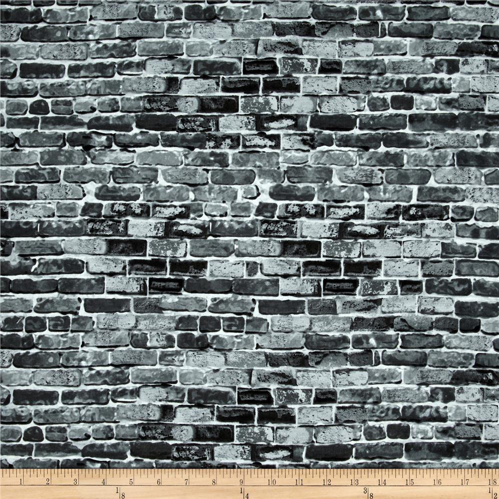 New York State Of Mind Brick Wall Grey