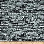 0265482 New York State Of Mind Brick Wall Grey