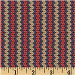 Snow Show Narrow KnittedStripe Red/Yellow