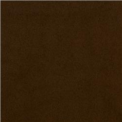 Sueded Faux Hide Cocoa
