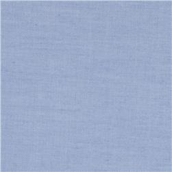 Kaufman Pinpoint Oxford Stretch Shirting Blue