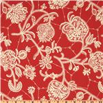 EQ-266 Amy Butler Lark Dreamer Souvenir Persimmon Red