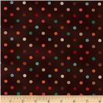 208676 Mocha Dots Brown