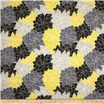 0282091 Waverly Sun N Shade Rosette Lemon