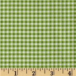 Riley Blake Small Gingham Green