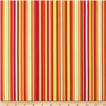 0273758 Michael Miller Lavinia Play Stripe Tangerine