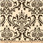 Premier Prints Traditions Natural/Chocolate