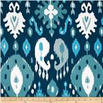 Kallianthi Traditional Ikat Ink Blue