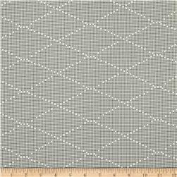 Ikebana Diamond Dots Abstract Grey