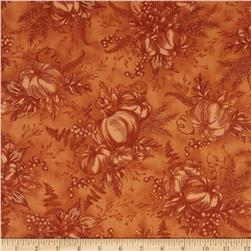 Timeless Treasures Fall Festival Pumpkin Toile Pumpkin