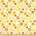 Riley Blake Simply Sweet Flower Yellow