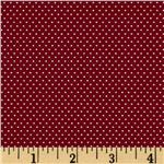 FO-159 Pin Dot Claret Red