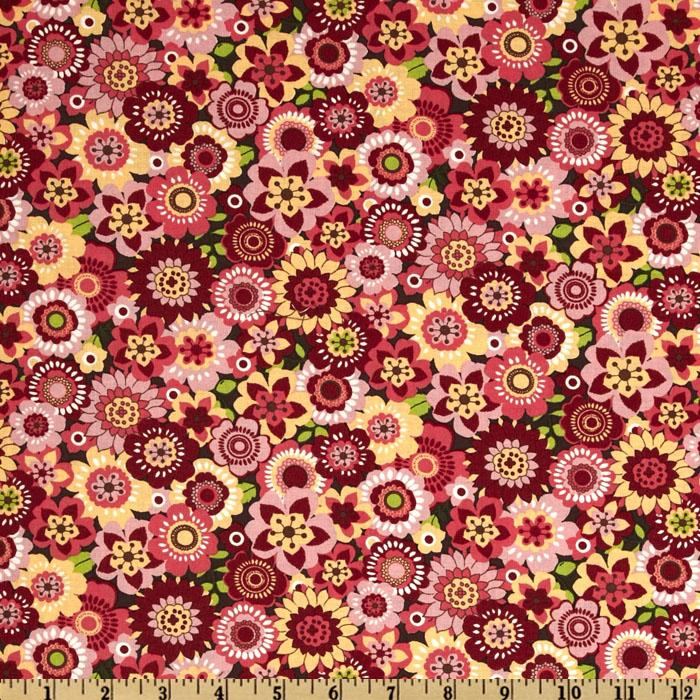 Spintastic Allover Floral Pink