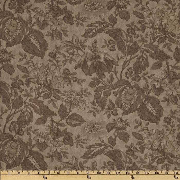 Moda Papillon 108'' Quilt Backing Floral Stone