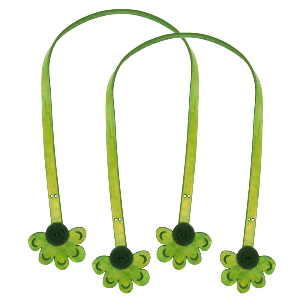 Cindy's Purse Straps 32'' Half Daisy Green
