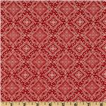 FI-807 Bandana Diamonds Red