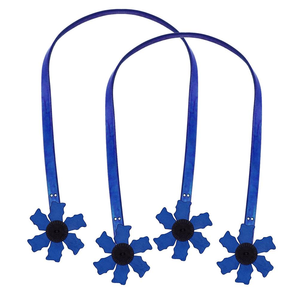 Cindy&#39;s Purse Straps 24&#39;&#39; Flower Blue